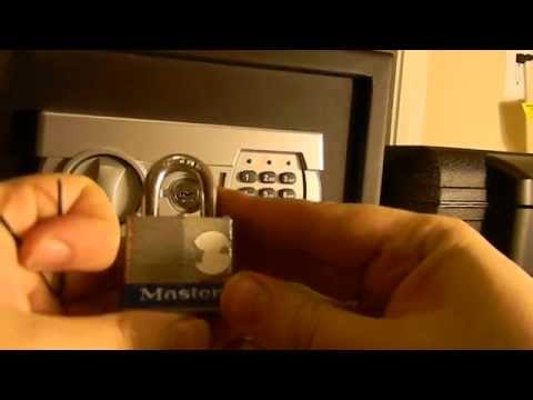 HOW TO PICK ANY LOCK OR SAFE WITH ONE BOBBY PIN!