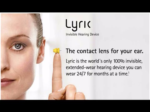 100% Invisible Hearing Aid -Lyric