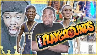 THE DOPEST NEW BASKETBALL GAME! - NBA Playgrounds Gameplay
