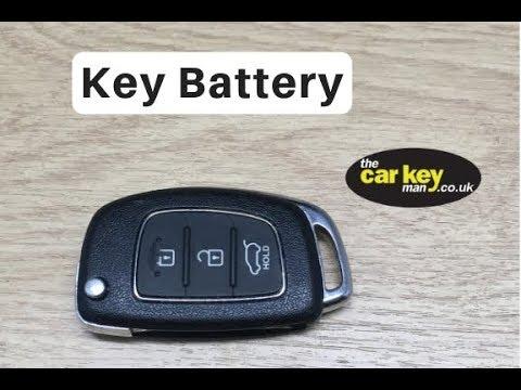 Hyundai ix35 Key Battery Change