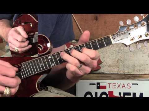 Amazing Grace Mandolin Solo- Tremolo and Harmony Lesson