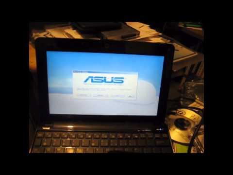 Restore Asus eee mini laptop notebook 1005PR 1005hab 1005 Series or some Asus PCs