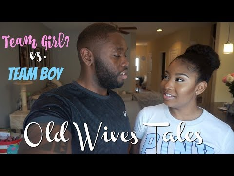 Old Wives Tales For Gender Prediction! Team BOY vs Team GIRL?