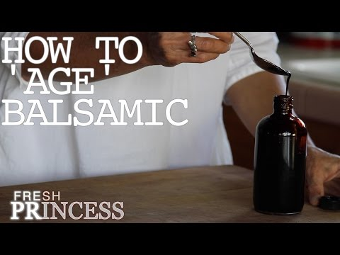 Chef's Tip: How To 'Age' Balsamic Vinegar in 15 Minutes  |  Fresh P