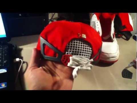 Custom Air Jordan IV Inspired Snapback/Laceback [ProfessorSnapp]