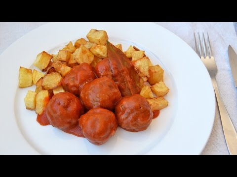 Beef Meatballs in Tomato Sauce - How to Make Homemade Meatballs from Scratch
