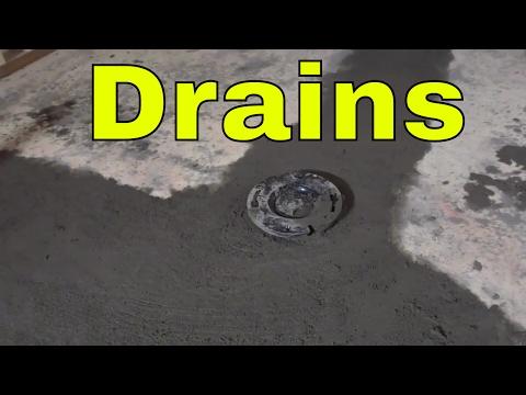 Bathroom Drains Installed-DIY-Basement Renovation