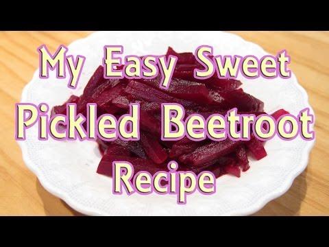 My Easy Sweet Pickled Beetroot Recipe (How to Preserve Sweet Pickled Beetroot in Vinegar)