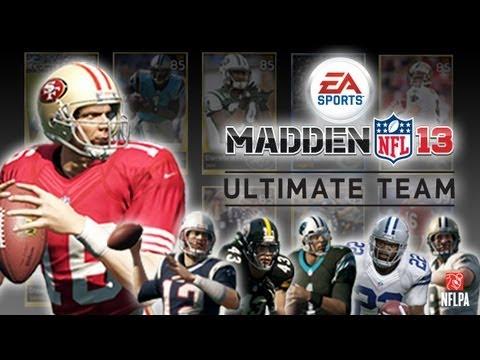 Madden 13 Ultimate Team - The Start