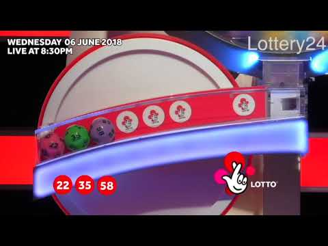 2018 06 06 UK lotto Numbers and draw results