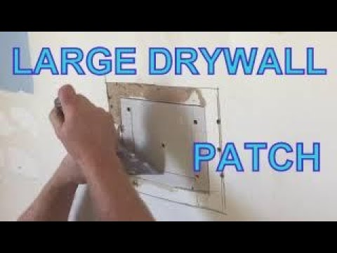 Patching a Larger Hole in Drywall