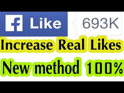 How to increase Facebook page likes free legally 2018