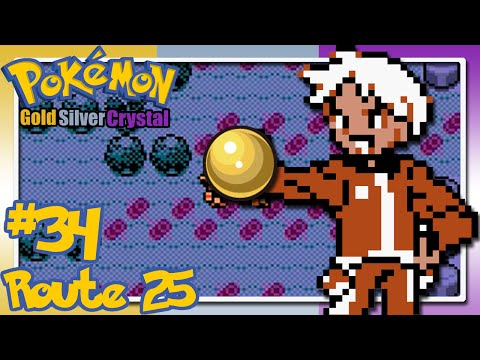 Let's Play Pokémon Gold/Silver/Crystal - Co-op - Part 34 - Route 25