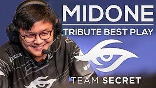 MIDONE Team Secret Tribute Movie - Best Plays