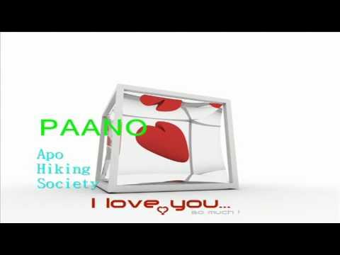 PAANO sung by Apo Hiking Society