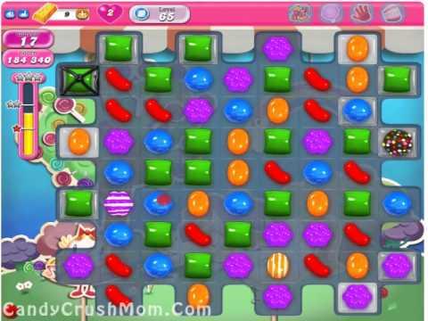 Candy Crush Level 65 Walkthrough Video & Cheats