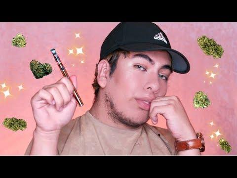 smoke sesh + doing my makeup high (lets spill tea)