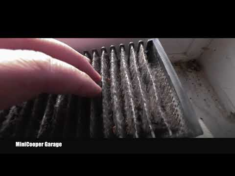 Mni Cooper - Cabin Air Pollen Filter Inspection, Replacement