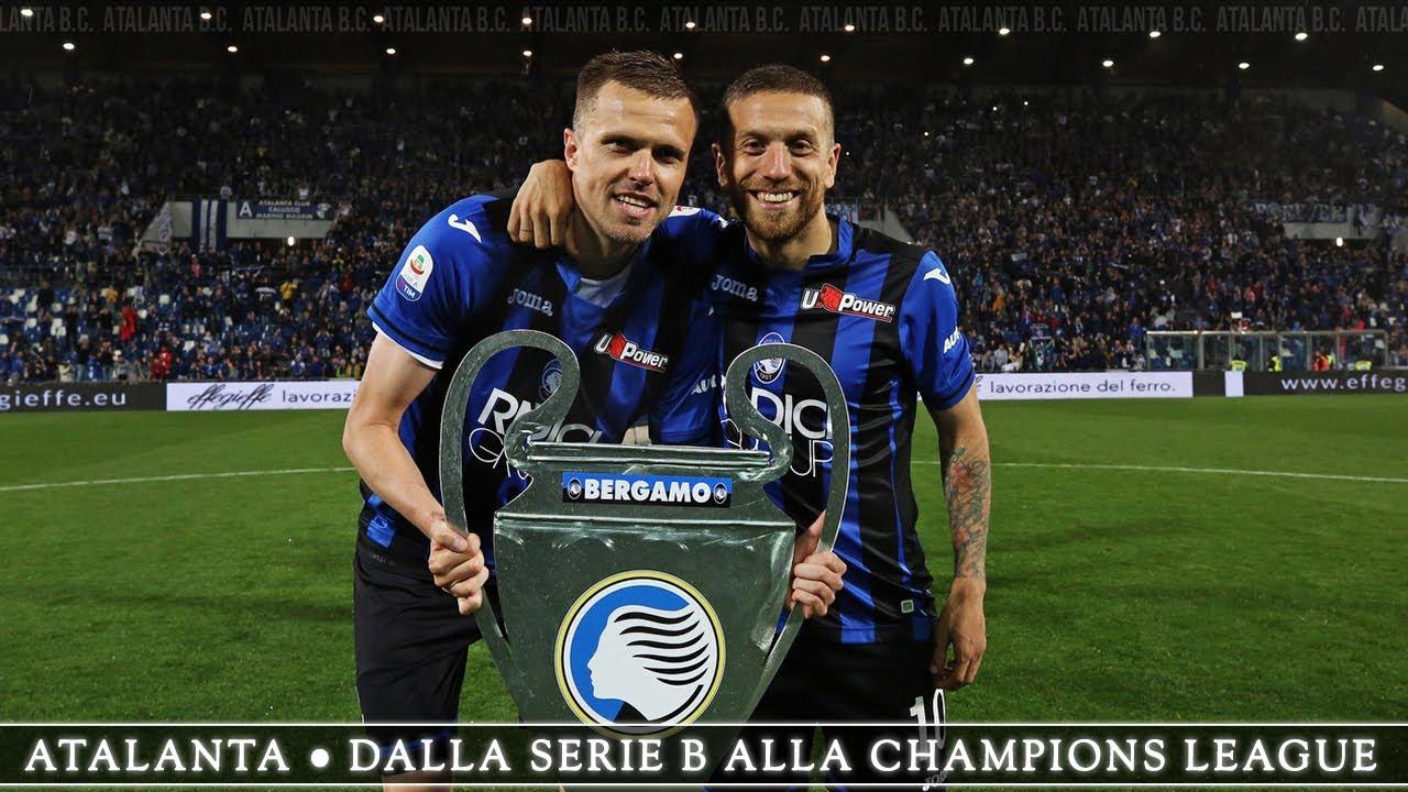 Atalanta - dalla Serie B alla Champions