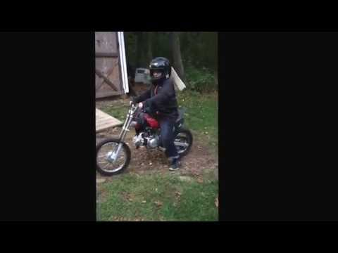 Eric's first motorcycle