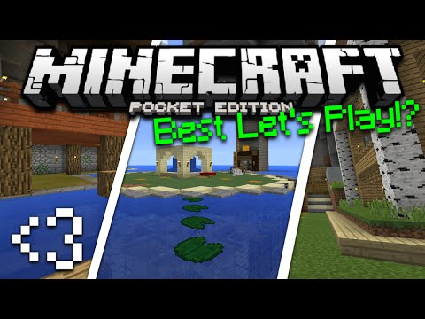 Minecraft PE Best Survival World Tour - MCPE AA12 Let's Play World Download (Pocket Edition)