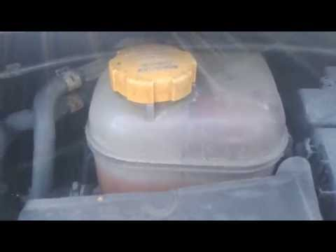 Draining the Coolant/Water on Vauxhall Zafira 2006 model