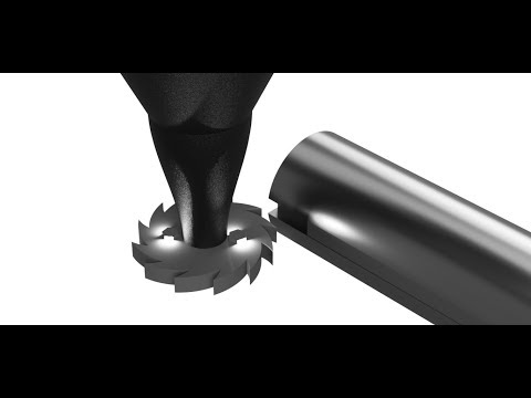 How a key seat is made - operation of milling cutter - what is a key seat