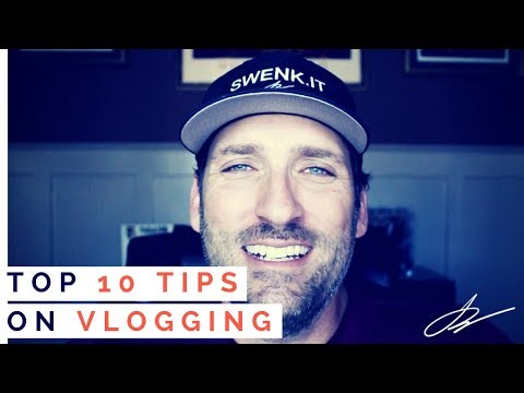 VLOGGING Do's & Don'ts - How to start a Vlog  | SwenkToday #89