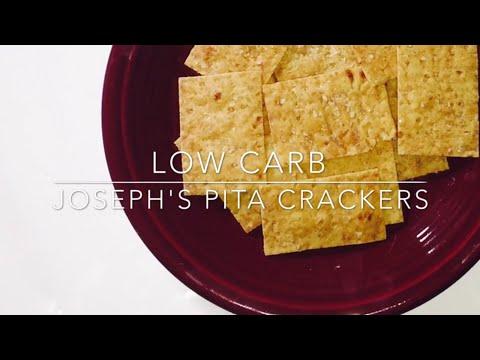 Low Carb Joseph's Pita Crackers {THM S Style}