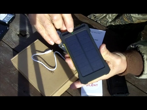 World Gone Silent Baofeng Solar Power Kit Product Review