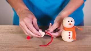 Christmas Craft Ideas: Make A Snowman Family