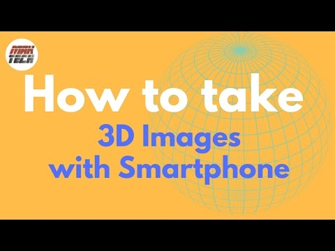 How to take 3D picture with Smartphone Camera | in Hindi | MAK TECH