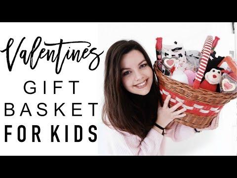 VALENTINE'S GIFT BASKET FOR KIDS | Valentine's Gift Ideas