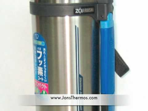 Zojirushi Portable Vacuum Thermos and Flask