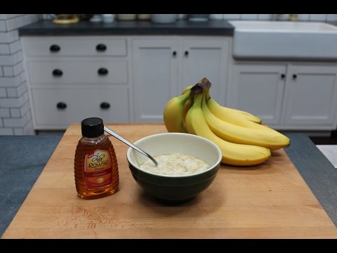 How to make Cinnamon Banana Porridge - oatmeal for breakfast