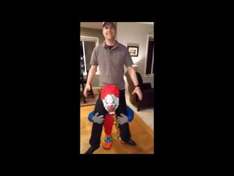 How to make a carry me illusion clown costume