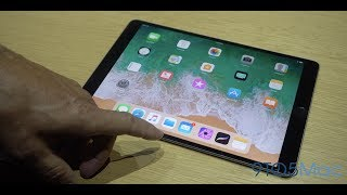 Hands-on with iOS 11 features on the new 10.5-inch iPad Pro [Video]