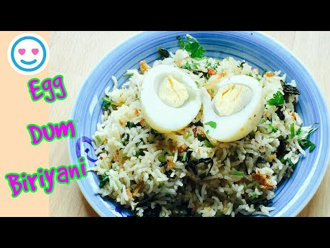 Hyderabadi Egg Biriyani   Simple & Quick Biriyani   Egg Dum Biriyani   Restaurant Style Biriyani