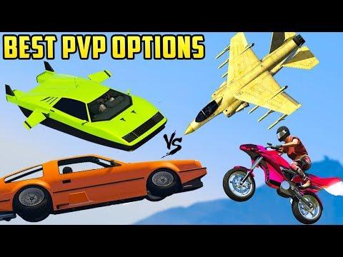 Top 15 Best PvP Options in GTA Online (2018)