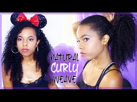 How To: Install & Blend Curly Extensions With Natural Hair♥
