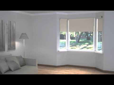 How to Dress Windows | Bay Windows with Blinds
