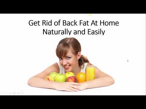How to Get Rid of Back and Shoulder Fat