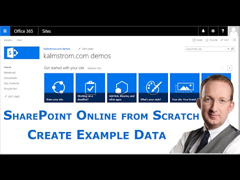 Create SharePoint List Example Data In Access