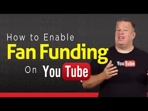 How to Enable Fan Funding on Your YouTube Channel - Tip Jar
