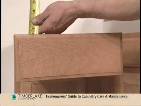 Cabinet Drawers: How-To Adjust or Align
