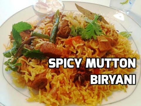 Spicy Mutton Biryani / Easy Mutton Biryani Recipe / Tasty Appetite