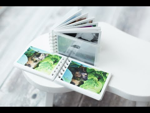 How to make a mini photobook with print studio from your android phone, iphone or ipad