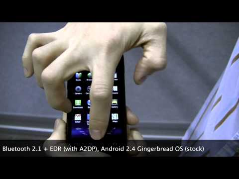 Hands-on Sprint Samsung Nexus S 4G - Gingerbread with 4G WiMAX