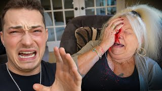 I really hurt Grandmom..