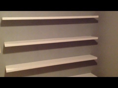 How to Build Sleek Free-Floating Wall Shelves!